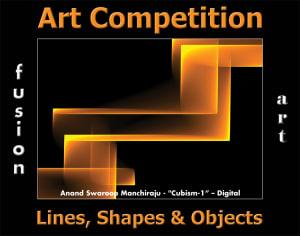第三次年度线,形状和物体艺术竞争