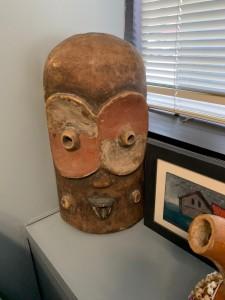 African Mask (Large Eyes)