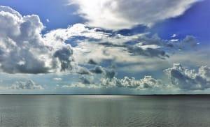 Clouds over Lake Anahuac