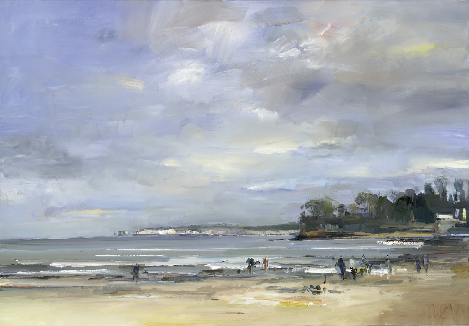 Studland Bay in Early Spring by David Atkins | Artwork Archive