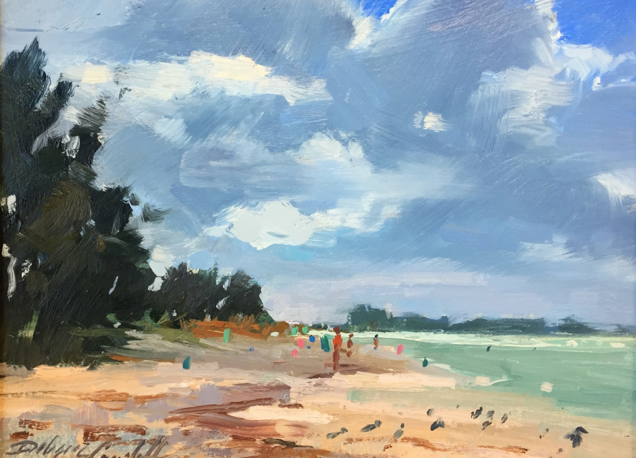 Holmes Beach by Katie Dobson Cundiff | Artwork Archive