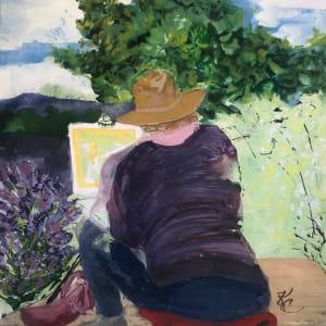 656- Lavendar Fields Paint Day.
