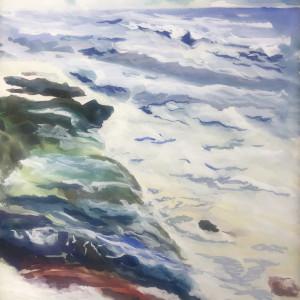 4/588- Storm surge 2 Yachats