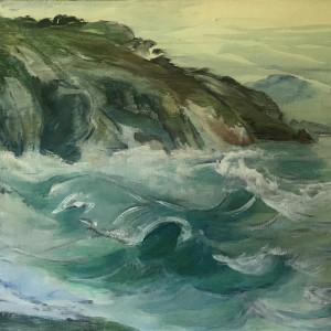 042 - Rocky Creek Wash by Katy Cauker