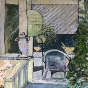 679- Rogue Gallery - Porch Haven 2/ Baldessare's by Katy Cauker