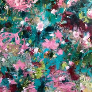 Joyous beginnings paulette insall contemporary impressionist fine art aauovc