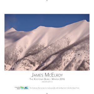 Kootenay Burn Poster - Winter
