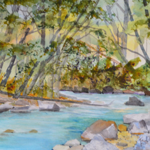 November on the Big Sur River