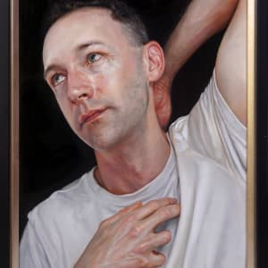 The Dying Slave (study) - portrait of Andrew Nicholls by Daevid Anderson