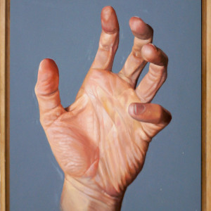 Hand Study #5 by Daevid Anderson