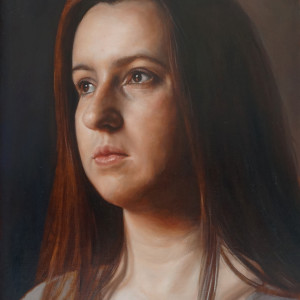 Portrait Study by Daevid Anderson