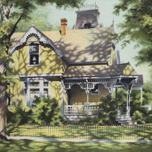 Addison_Robert_Yellow_House._A12-CB5_srdysm_16 by Robert Addison
