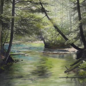 Emerald River 2000 by Bill  Hamilton