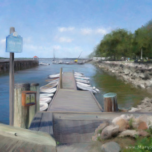 Northport Harbor by Mary Ahern