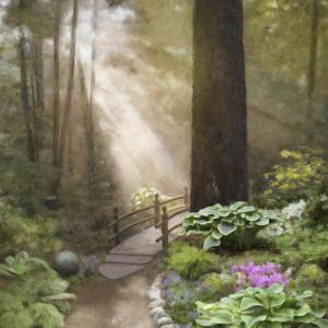 Woodland Sunshine by Mary Ahern