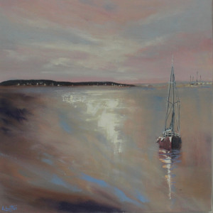 Boat in Poole Harbour