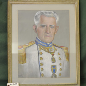 Portrait of unknown officer