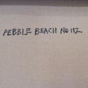 Pebble Beach No. 112 by Karen Tusinski