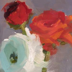 Ranunculus II by Monique Lazard
