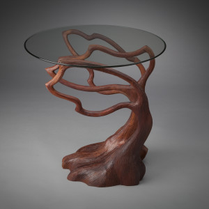 Silhouette End Table by aaron d laux