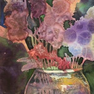 Summer Bouquet Study by Helen R Klebesadel