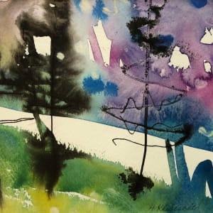 Ink Tree Study II by Helen R Klebesadel
