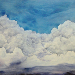 Clouds Canvas