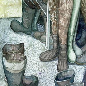 Boot Room by Helen R Klebesadel