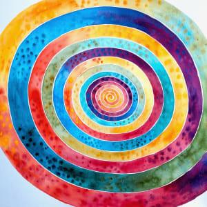 Abstract Meditation by Helen R Klebesadel