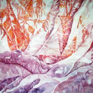 Veil an original watercolor by Helen R Klebesadel