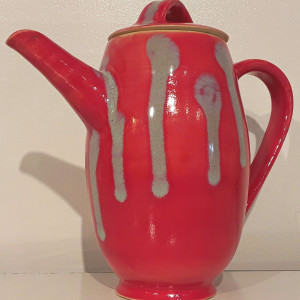 Tall Tea Pot
