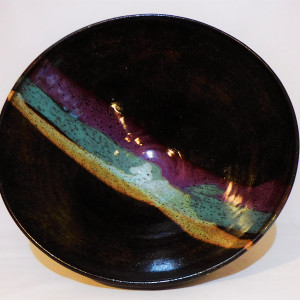Temmoku Color Bowl #2