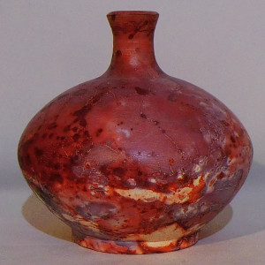 Saggar Fired Bottle