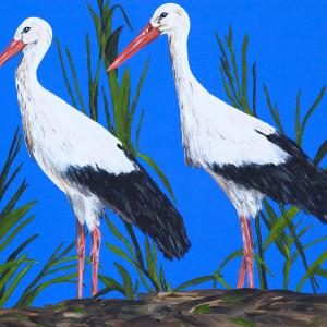 White Storks - Majestic