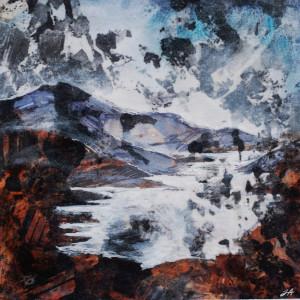 Craig Mhor Thollaide, Hornblende-Biotite Gneiss, NG873770