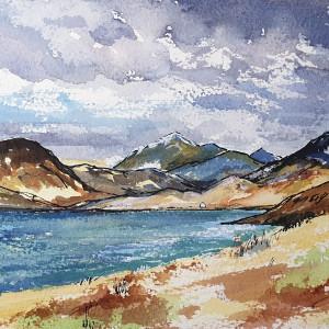 Loch Scavaig from Elgol