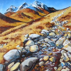 Path through Glen Sligachan