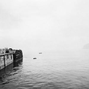 The breakwater, Summer by Chris Killip