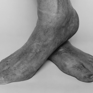 Feet Crossed (SP 3 85) by John Coplans