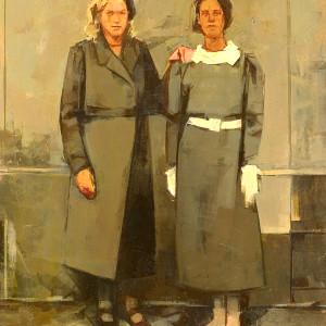 Genowefa and Eleanora Debrowa
