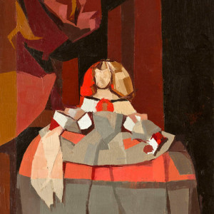 After Velazquez by Catherine  Kehoe