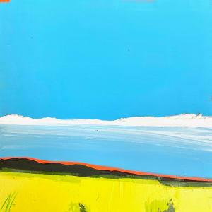 Dreamy Days, 8 x 8, oil on board by Nancy B. Hartley