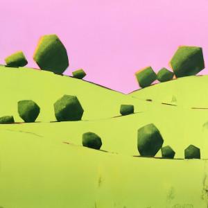 California Hills by Nancy B. Hartley