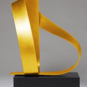 Poised 3 Yellow by Joe Gitterman