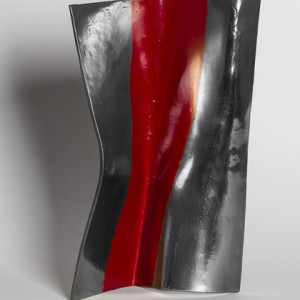 Movement 4 Gray/Red by Joe Gitterman