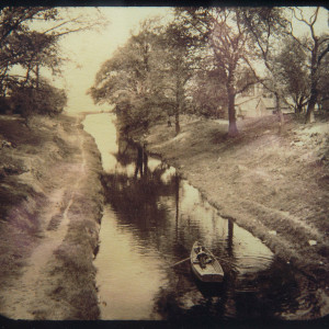 The Morris Canal Greenville c. 1902 by William Armbruster