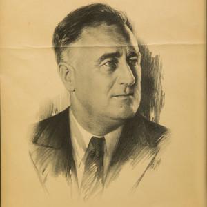 Untitled (A Gallant Leader, Franklin D. Roosevelt)