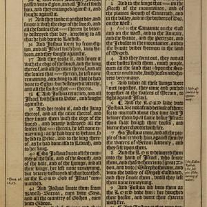 King James Bible Page Joshua 10.9 - 11.12
