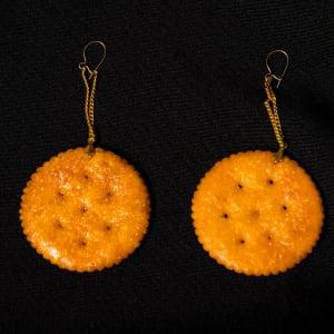 Cracker Earrings by John Fischer