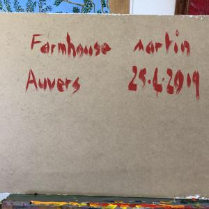 Farmhouse Auvers by Martin Briggs   Artwork Archive